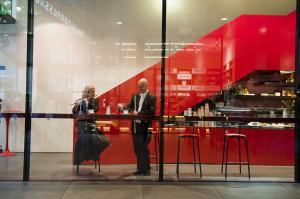 """""""Kaffeepause"""" im Café Kunsthalle in den Fünf Höfen"""